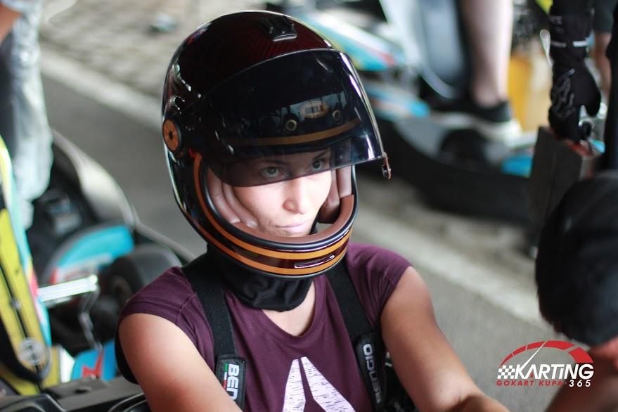 Anna a Karting365 bajnoka